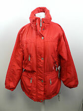 Luhta Sport Ladies Ski Jacket Size 12 Red rrp £120 Box3419 A