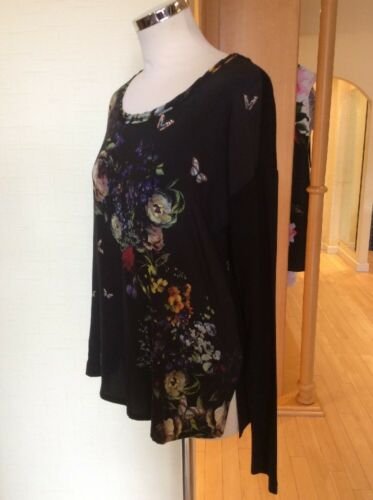 Size Green Black Top Now Rrp Floral £79 Riani Bnwt 10 £175 Orange dXqwII56x