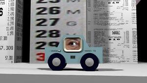 TELECAR Still da videoanimazione stampa su FOREX di G. Cicalese 33x60x2cm