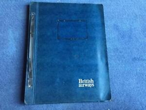 A-Photocopy-of-British-Airways-Concorde-Original-On-board-Catering-Manual-1976