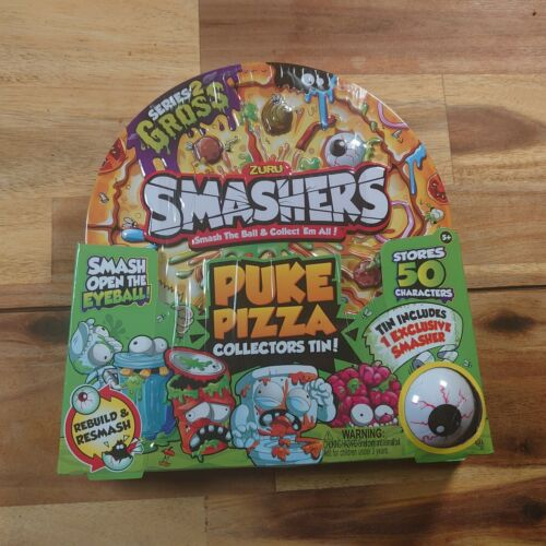 Smashers vomir Pizza Collectors Tin-Includes Exclusive Smasher-New /& Sealed