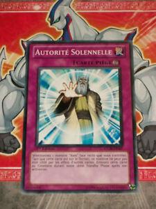 Carte Yu Gi Oh AUTORITE SOLENNELLE LC5D-FR197 x 3