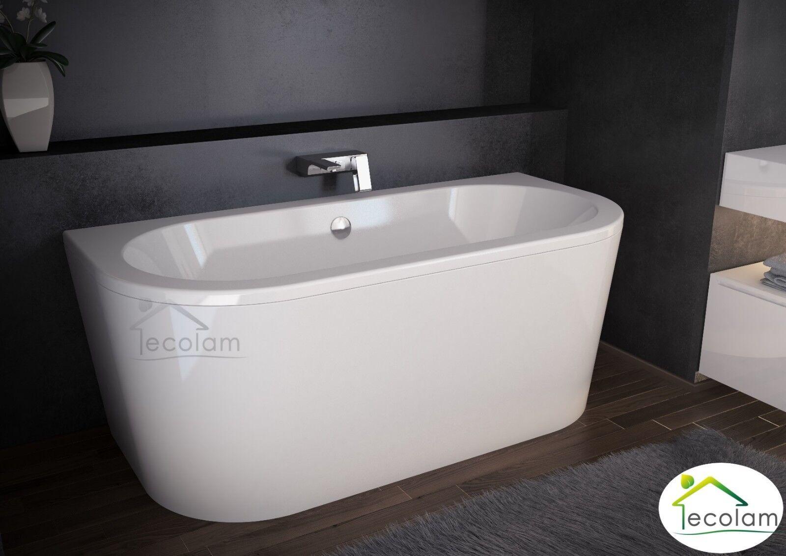 Vorwand- Badewanne freistehende Wanne 140x75 150x75 160x75 170x75 cm Design