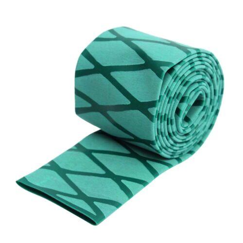 30cm Schrumpfschlauch Rutschfest Griff für Tennisschläger Angelruten-Grün