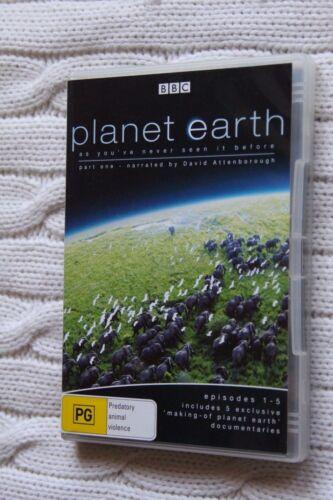 1 of 1 - Planet Earth : Vol 1 (DVD, 2006, 2-Disc Set), Region-4, Like new (Discs: New)