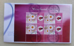 2005-SIGNS-OF-THE-ZODIAC-TAURUS-4-STAMP-BOOKLET-PANE-P-STAMP-FDC