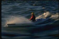 155001 Solo Canoe Surfing Ottawa River Ontario A4 Photo Print
