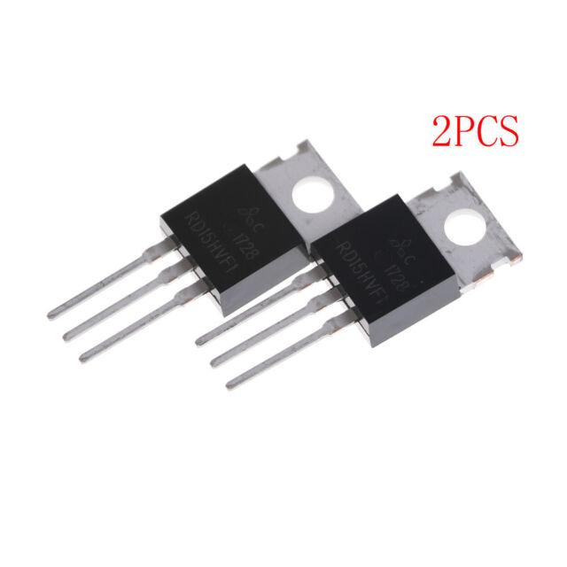 2pcs RD15HVF1 Mitsubish TO220 Power Crystal TrPV