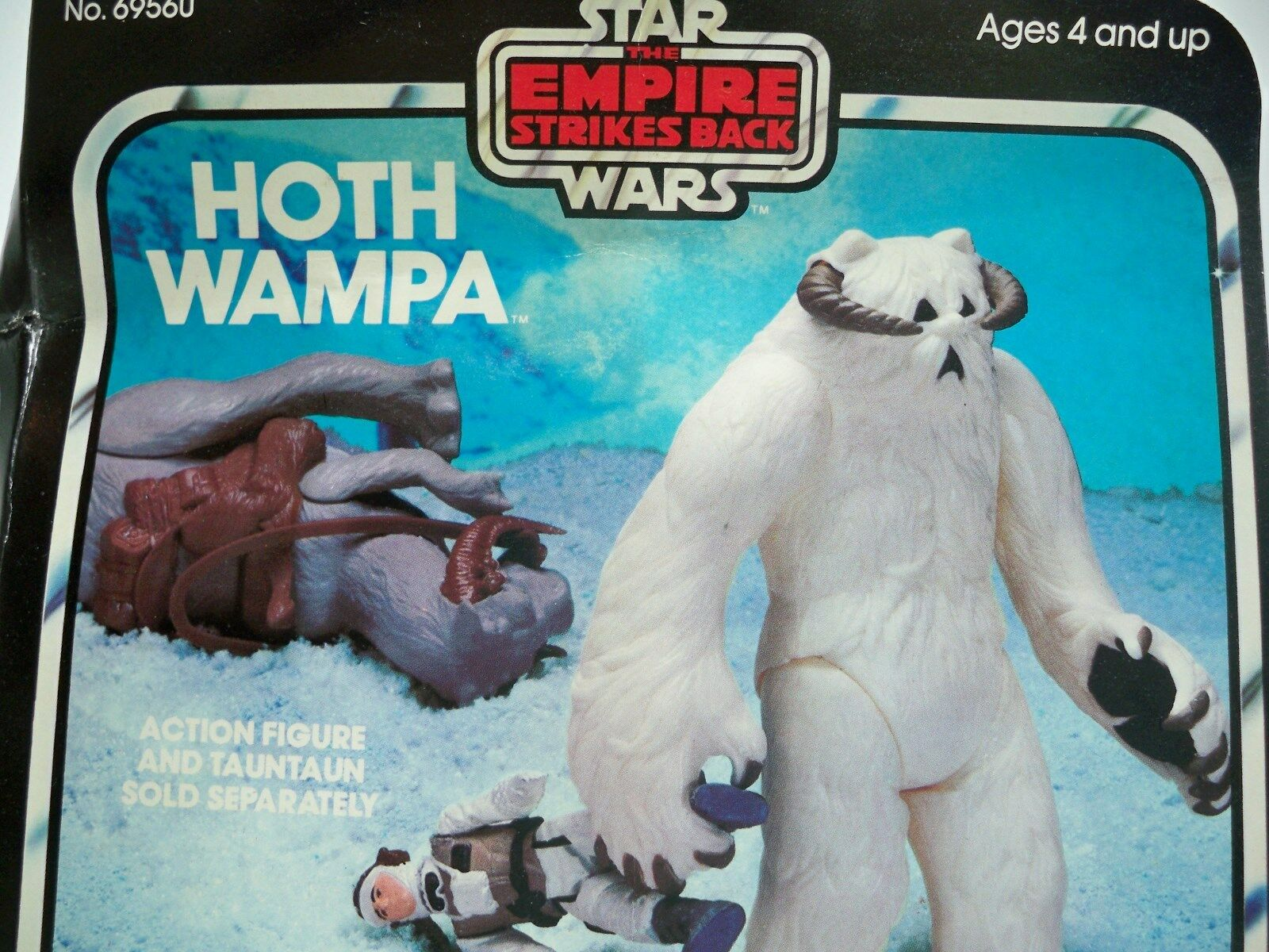 R0504567 WAMPA STAR WARS HOTH ESB 1981 ACTION FIGURE MINT IN BOX MIB