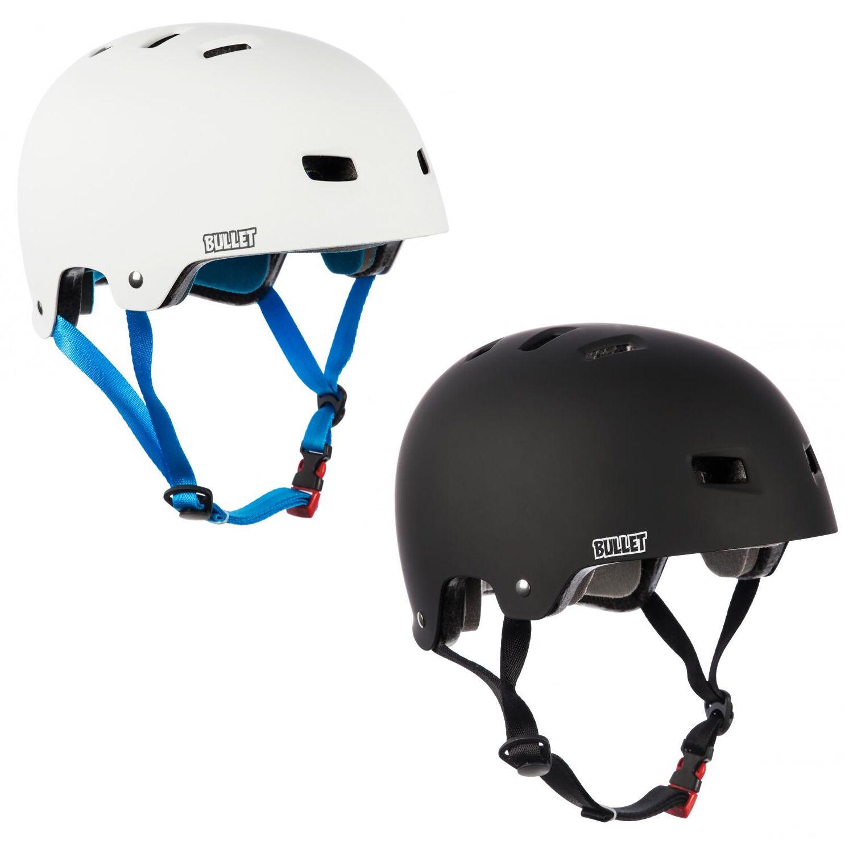 BULLET SANTA CRUZ ADULT ROLLER SKATING CYCLING PredECTIVE HEAD GUARD HELMET