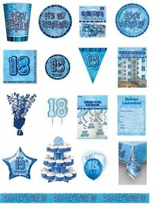 18-18th-Birthday-Blue-Glitz-Party-Range-Party-Plates-Napkins-Banners-Cups