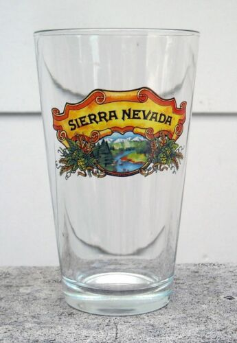 12 SIERRA NEVADA CONICAL 20oz PINT GLASSES TOUGHENED Free Shipping UK