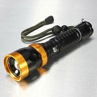 Bright X800 Tactical Led Strong Flashlight 12w 1800 Lumens Shadowhawk X700 Style