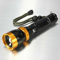 Bright X800 Tactical Led Strong Flashlight 12w 1800 Lumens Shadowhawk X700 Style