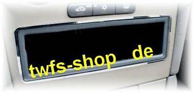 D Opel Astra G Chrom Rahmen für Ablagefach Edelstahl poliert