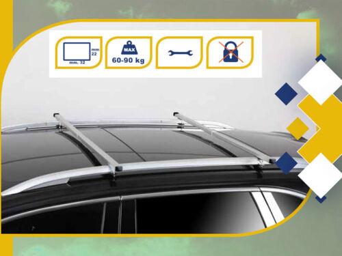 Barre Portatutto SEAT ATECA 2016/> RAPID 85-135cm TELESCOPICHE K39