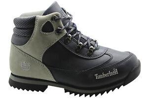 Timberland 92984 azul 0 marino Sprint Hiker Senderismo Boots Juniors Cuero D75 2 rv1B8r
