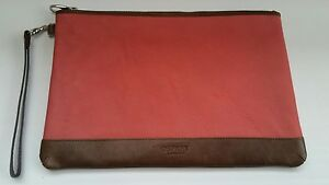 Osprey-London-Graeme-Ellisdon-Leather-Clutch-Purse-Wallet-Bag-IPad-Tablet-Case