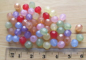 150-6mm-034-opal-034-translucent-round-faceted-acrylic-plastic-beads-choose-colour