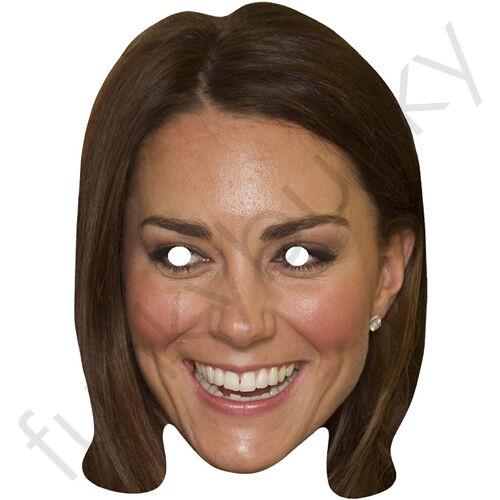 Kate Middleton Royal Celebridad Tarjeta Máscara Nuevo-todas nuestras máscaras son pre-corte!