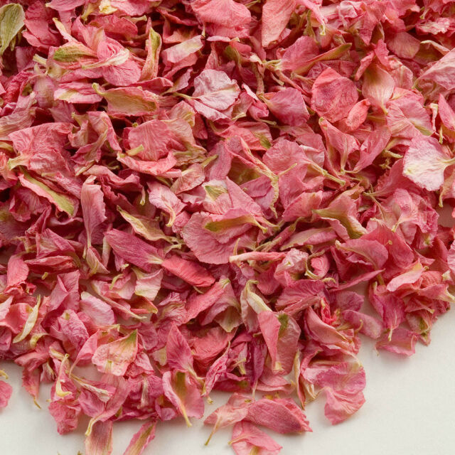 1 Ltr Natural Delphinium Petals Pink Wedding Confetti