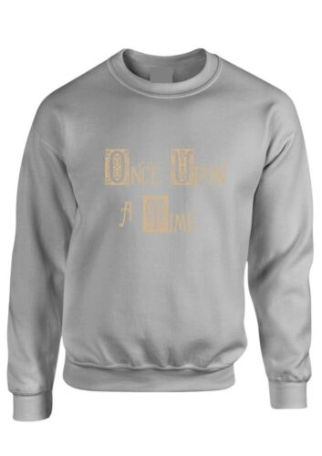 Once Upon a Time Maglione Felpa Storybrooke Tv Unisex Donne Bambini Tumblr