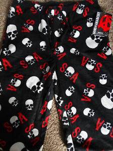 Sons-of-Anarchy-Cranes-SOA-Polaire-Lounge-sommeil-Pantalon-Officially-Licensed-Neuf-avec-etiquette