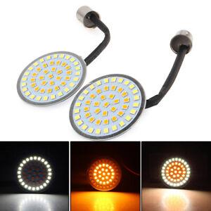 2X-Turn-Signal-1157-LED-Bullet-Style-Blinker-Indicator-Light-for-Harley-Davidson