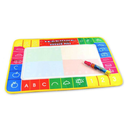 Water Drawing Indoor Toy Writing Mat Board Magic Pen Doodle Toy Gifts For Kids