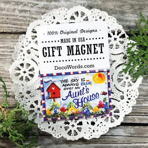 Aunt-Gift-Fridge-MAGNET-Family-Designs-Cute-party-favor-USA-New-DecoWords