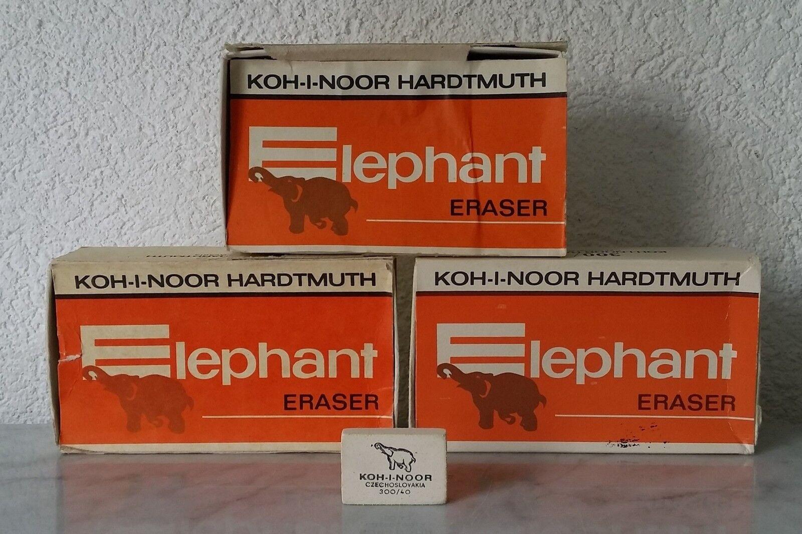 3 Schachteln Radiergummis KOH-I-NOOR Elephant Eraser über 100 Stk eraser rubber | Hohe Qualität und günstig  | Realistisch  | Züchtungen Eingeführt Werden Eine Nach Der Anderen