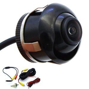 Rueckfahrkamera-verstellbare-Linse-12V-PKW-Auto-Heck-Stossstange-Cinch-Kabel-NEU