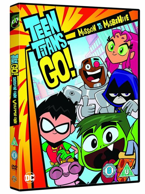 Teen Titans Go!: Mission To Misbehave [2017] (DVD)