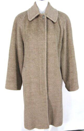 80's Alpaca Mizrahi Sz In 90's Usa 4 Wool Womens Made Isaac Vtg Tan Brown zFq0a5xw
