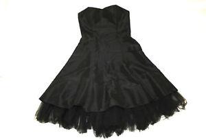 MAGIC NIGHTS Ball Kleid Petticoat schwarz 38 Tüll Ballon ...
