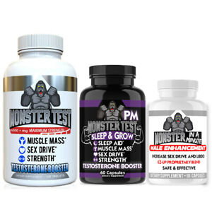 Testosterone-Booster-Monster-Test-with-Tribulus-Terrestris-Male-Enhancement-3-Pk