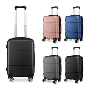 20-Inch-Case-Bag-Hand-Cabin-4-Wheels-Spinner-Trolley-Luggage-Suitcase