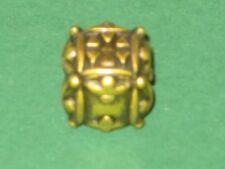 IRONDIE YELLOW BALLISTIC Gold-gelber Metall Würfel