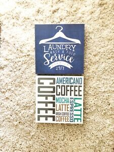 Modern-Home-Laundry-Room-Kitchen-Wall-Decor-Coffee-Lovers-Canvas-Box-Frame-Art