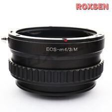 Canon EOS EF lens to Olympus PEN Micro 4/3 mount adapter Macro Focusing Helicoid