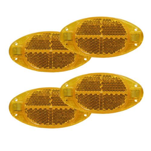 Vélo Chats Yeux Project EAXUS pour rayons montage JAUNE réflecteur rayons projecteur