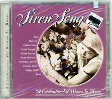 """V. A. CD: """"Siren Song""""  Celine Dion, Sade, Indigo Girls, Gloria Estefan+ Sealed"""