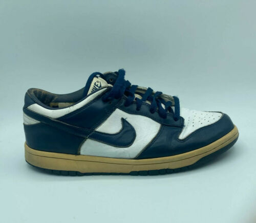 Nike dunk low pro B White Midnight Navy 2004 Used