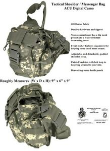 Shoulder-Bag-Messenger-Bag-Tactical-Military-Survival-Gear-CAMOUFLAGE