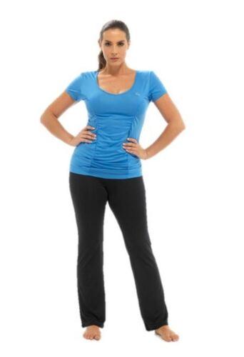 Damen Mädchen Fitness Oberteil T-Shirt Laufen Fitness Bekleidung Sports