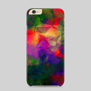 Colorato-Astratto-Poligono-Custodia-Cover-Telefono