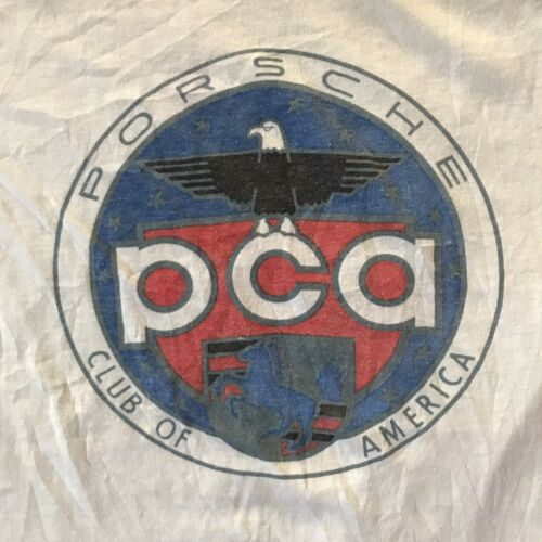 VTG 70s 80s PCA Porsche Club of America Ringer Thi