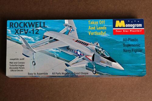 Monogram style hardbox reproduction Rockwell XFV-12 VTOL fighter Boxart Treasure