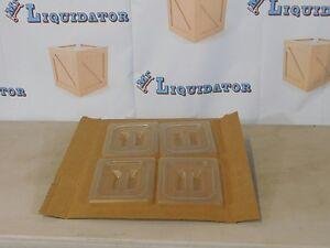 1//4 Size Polycarbonate Drain Shelf for 1//4 Size Pan SP74DS T43