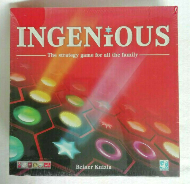 INGENIOUS Board Game - Esdevium Games 2012 - Ex Display - Still Factory Sealed